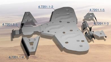 Protección Completa Aluminio RIVAL para Can Am Renegade