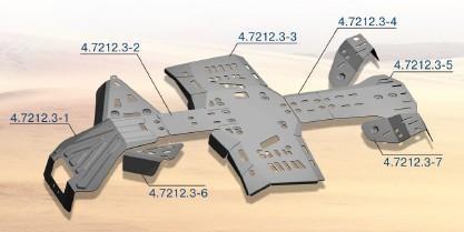 Protección Completa Aluminio RIVAL para Can Am Outlander 1000/800/650/500
